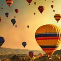 Go Hot Air Ballooning in Cappadocia
